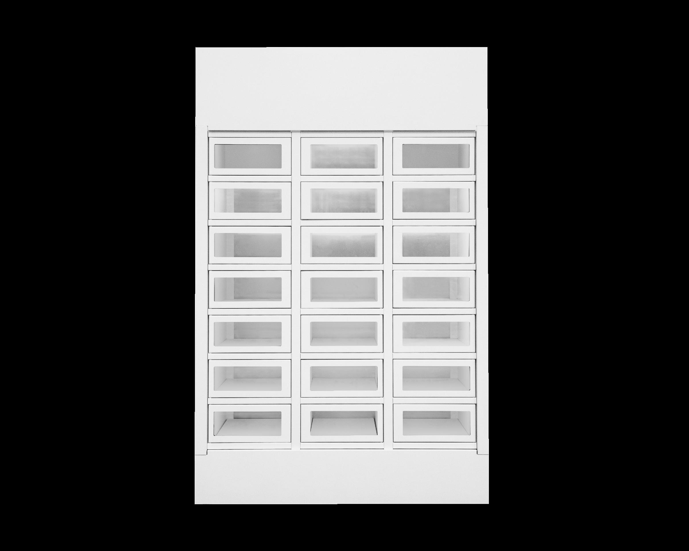 Module Le Casier Français 21 casiers