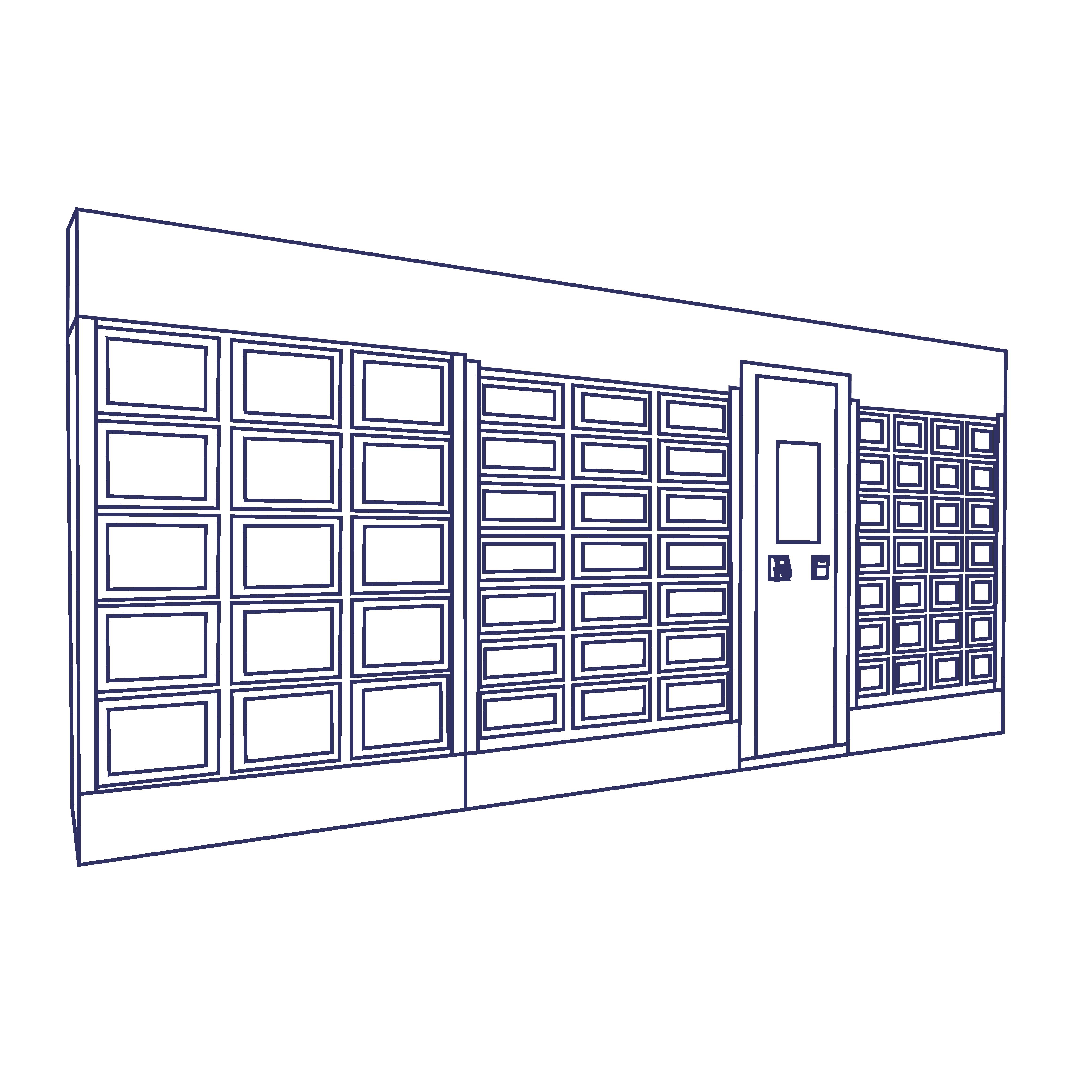 Personnalisation par un bandeaux d'un distributeur automatique Le Casier Français